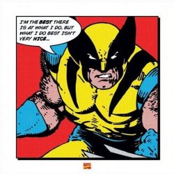 Wolverine (I'm The Best) - reprodukcja
