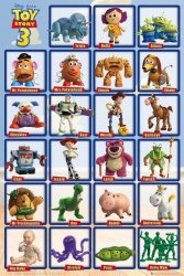 Toy Story 3 Grid  - plakat