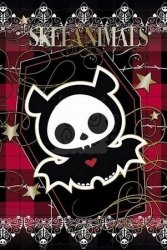 Skelanimals Diego Plaid - plakat