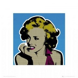 Marilyn MonroePopart - reprodukcja