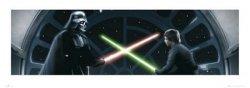 Gwiezdne Wojny - Vader Vs Luke - reprodukcja