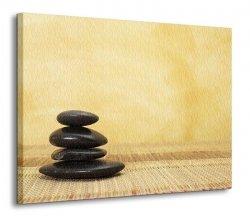 Obraz na płótnie - Gorący kamień - 120x90 cm