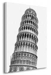 Obraz na ścianę - Krzywa Wieża w Pizie - 90x120 cm