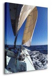 Obraz na płótnie - dla sympatyków morza - Żeglowanie - 90x120 cm