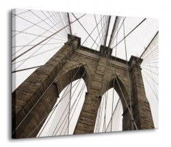 Obraz na ścianę - Most - Brooklyn Bridge IV - 120x90 cm