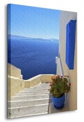Obraz na ścianę - Grecja - 90x120 cm
