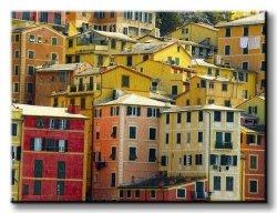 Obraz na ścianę - Camogli, Włochy - 120x90 cm