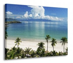Obraz na ścianę - Tropiki na Pacyfiku - 120x90 cm