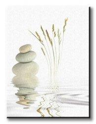 Obraz na wymiar - Pokój zen - 90x120 cm