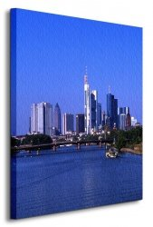 Obraz Miasto - Frankfurt - 60x80 cm