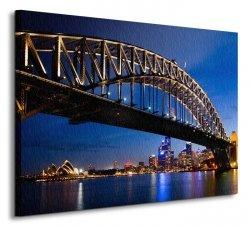 Sydney, Night - Obraz na płótnie