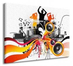Electric freeflow Dance - Obraz na płótnie