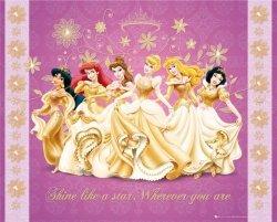Disney PrincessShine - plakat