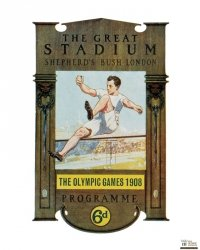 London 1908 Olympics - reprodukcja