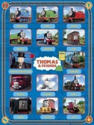 Tomek i przyjaciele Characters - plakat
