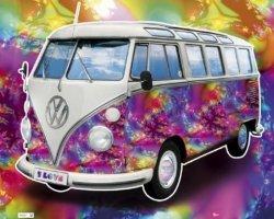 VW Californian Camper Love - plakat