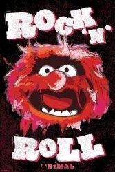 Muppets (Animal) (Metallic Signature Poster) - plakat