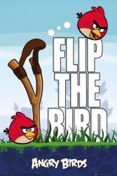 Angry Birds - Flip The Bird - plakat