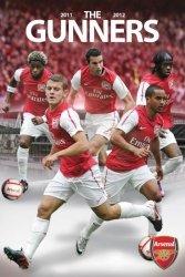 Arsenal Zawodnicy 11/12 - plakat