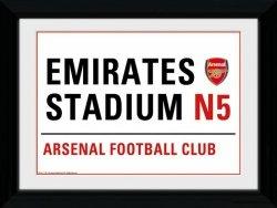 Arsenal Street Sign - obraz w ramie
