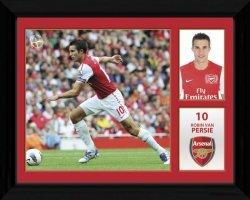Arsenal Van Persie 11/12 - obraz w ramie