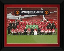 Obraz na ścianę - Manchester United Team Photo 11/12