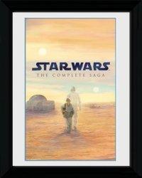 Obraz na ścianę - Star Wars Blu Ray Saga