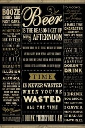 Drinking Quotes - plakat