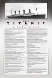 Titanic - 100 Years, 100 Facts - plakat