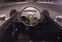 Ferrari F1 Vintage Quarter Mile - obraz na drewnie