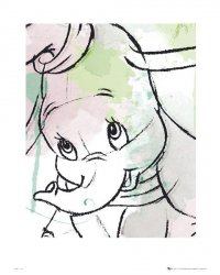 Dumbo Drawing - reprodukcja