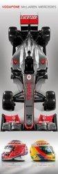 Mclaren - F1 2012 - plakat