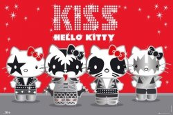 Hello Kitty Kiss Band (German Customers Only) - plakat