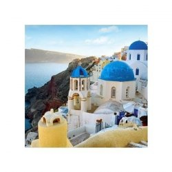 Santorini Oia - reprodukcja