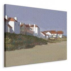 Beach Houses, Thorpness  - Obraz na płótnie