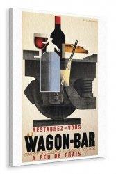 Wagon-Bar - Obraz na płótnie