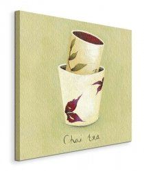 Chai Tea - Obraz na płótnie