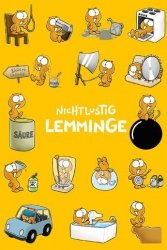 Lemminge, lemingi - plakat