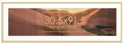 Rama aluminiowa 30,5x91,5 cm