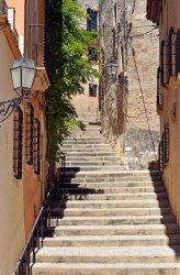 Fototapeta na ścianę - Schody, Tarragona, Hiszpania - 115x175cm