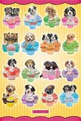 Psy, Pieski z babeczkami - plakat