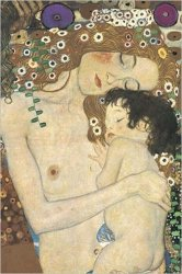Gustav Klimt - Mother and Child - plakat