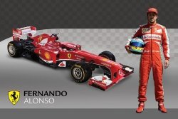Ferrari (Alonso & Car) - plakat