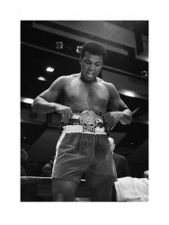 Muhammad Ali (Belt)  - reprodukcja