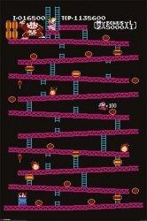 Donkey Kong (NES) - plakat