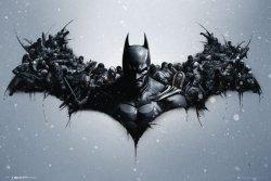 Batman Origins Arkham Bats - plakat