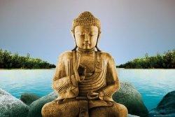 Zen Buddha Lake - plakat