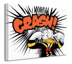 Donald Duck (Crash) - Obraz na płótnie