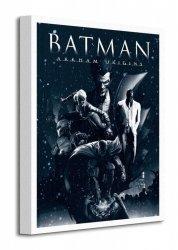 Batman Arkham Origins (Montage) - Obraz na płótnie
