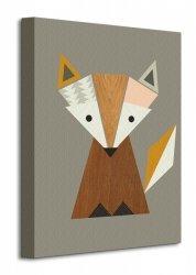 Little Design Haus (Geometric Fox)  - Obraz na płótnie